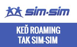 Keď roaming tak SIM-SIM